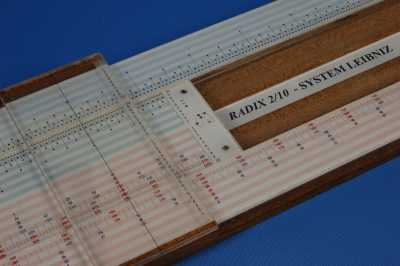 radix slide rules